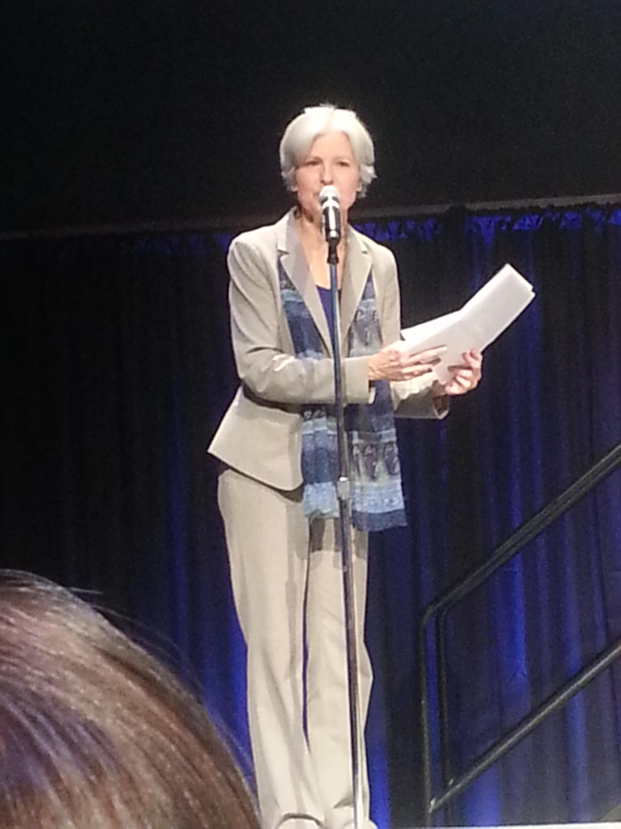 Jill Stein visits Colorado Greens