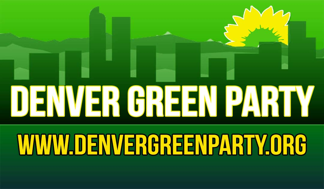 Stupendous Denver Green Party Positions On Ballot Initiatives For The Home Interior And Landscaping Eliaenasavecom