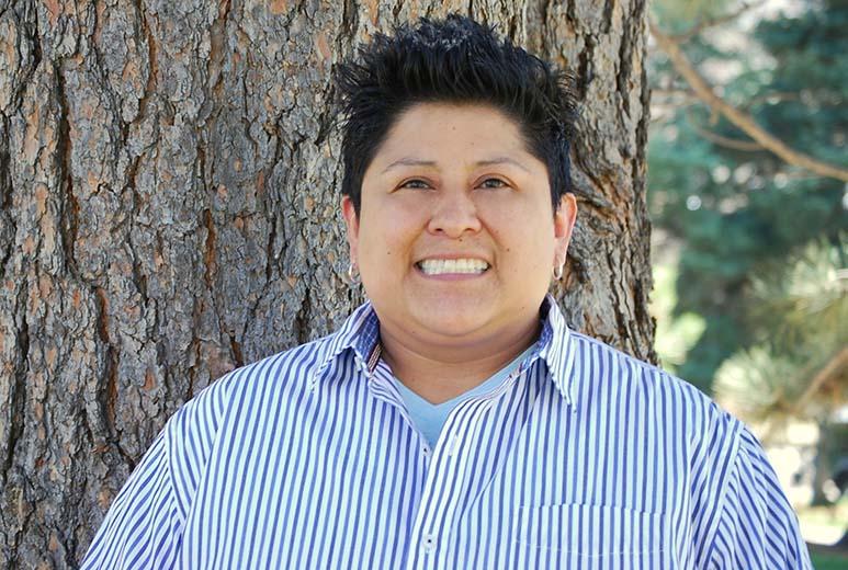 Denver Green, Julie Bañuelos, is running for school board at-large