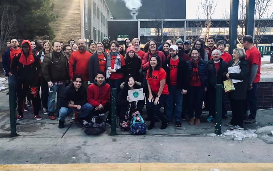 Denver Green Party applauds the Denver teacher strike vote