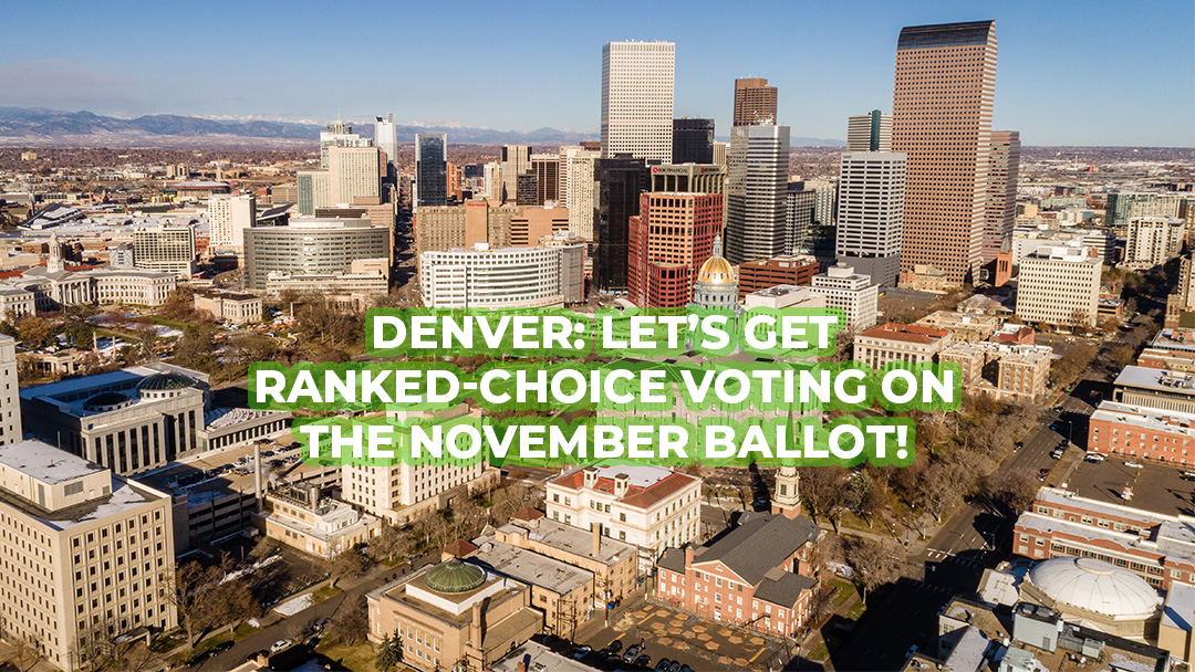 Denver Charter Committee: Ranked Choice Voting is right for Denver